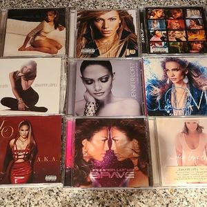 Jennifer Lopez 9 Cd set , great condition